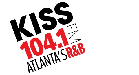 KISS 104.1 FM - Atlanta's R&B Logo